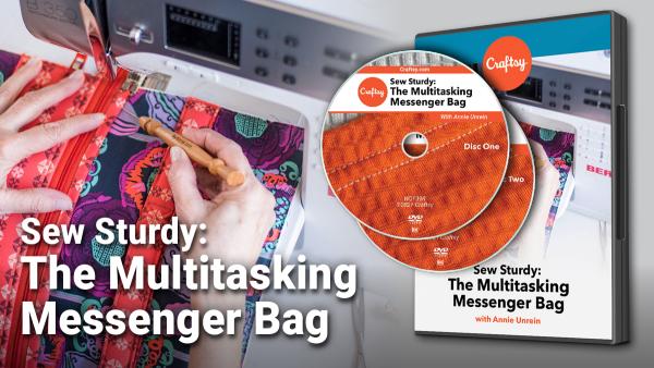 Craftsy Multitasking Messenger Bag DVD