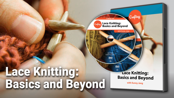 Craftsy Lace Knitting: Basics and Beyond DVD