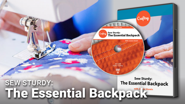 Craftsy Essential Backpack DVD