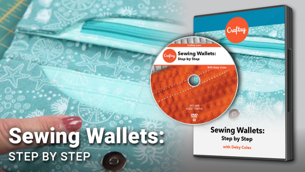 Craftsy Sewing Wallets DVD