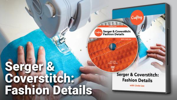 Craftsy Serger & Coverstitch DVD