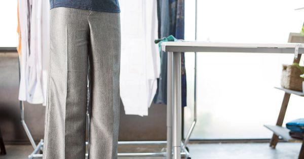 Grey tailored pants