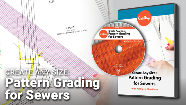 Craftsy Pattern Grading fror Sewers DVD