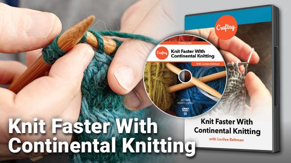 Craftsy Knit Faster DVD