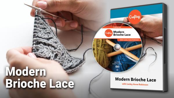 Craftsy Modern Brioche Lace DVD