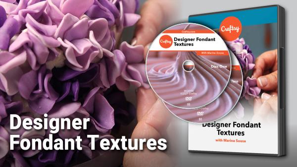 Craftsy Designer Fondant Textures DVD