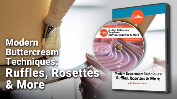 Craftsy Modern Buttercream Techniques DVD
