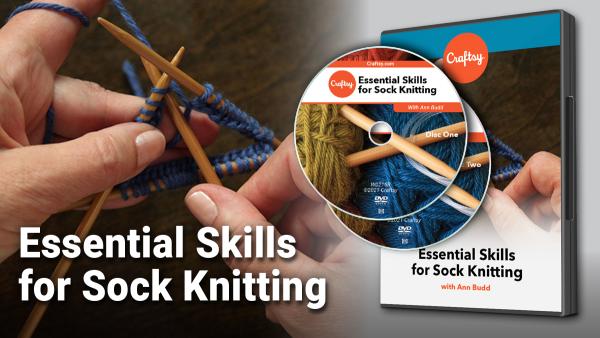 Essential Skills for Sock Knitting DVD