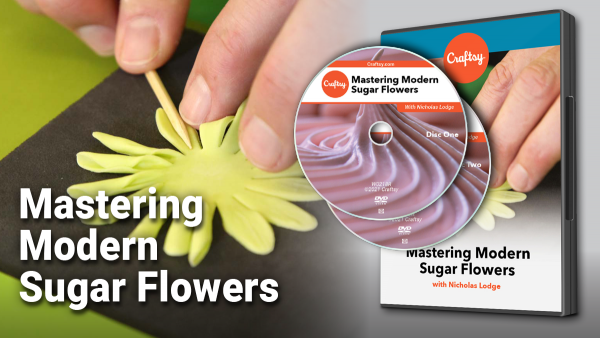 Mastering modern sugar flowers DVD