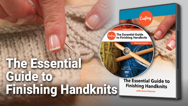 Essential Guide to Finishing Handknits DVD