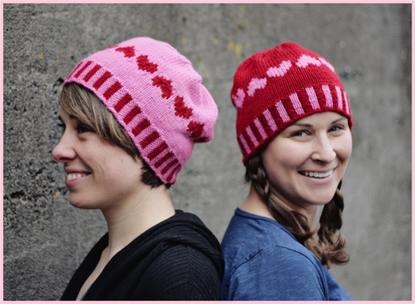 With Love Knit Colorwork hat