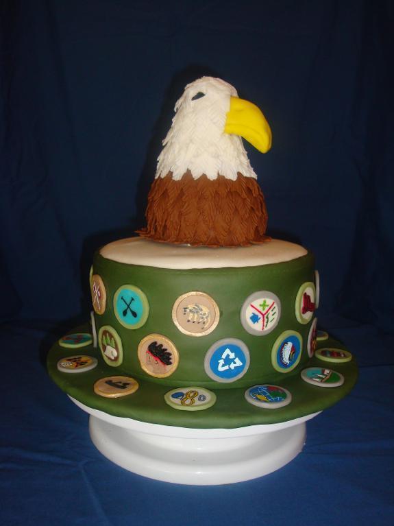 Bluprint Member Cake - Eagle Scout Cake