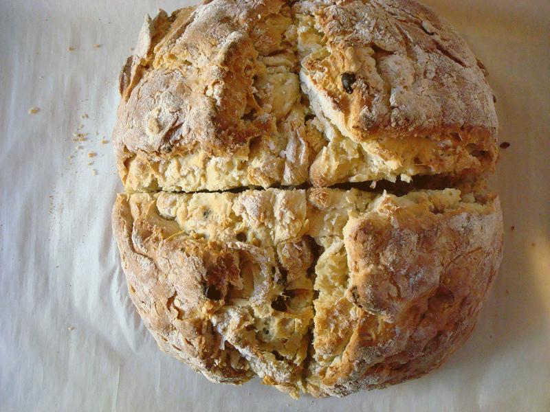 Irish Soda Bread - Recipe and Tutorial on Bluprint.com
