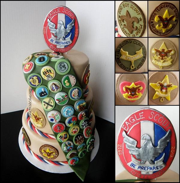 Badge Cake