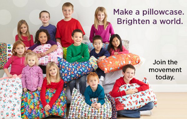 1 Million Pillowcases Project - Kids