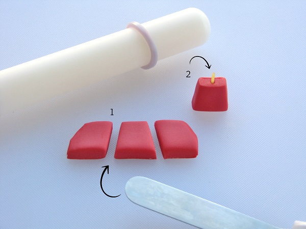 Cutting Fondant Pieces