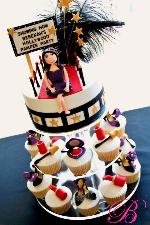 Glamorous Hollywood Cakes and Cupcakes