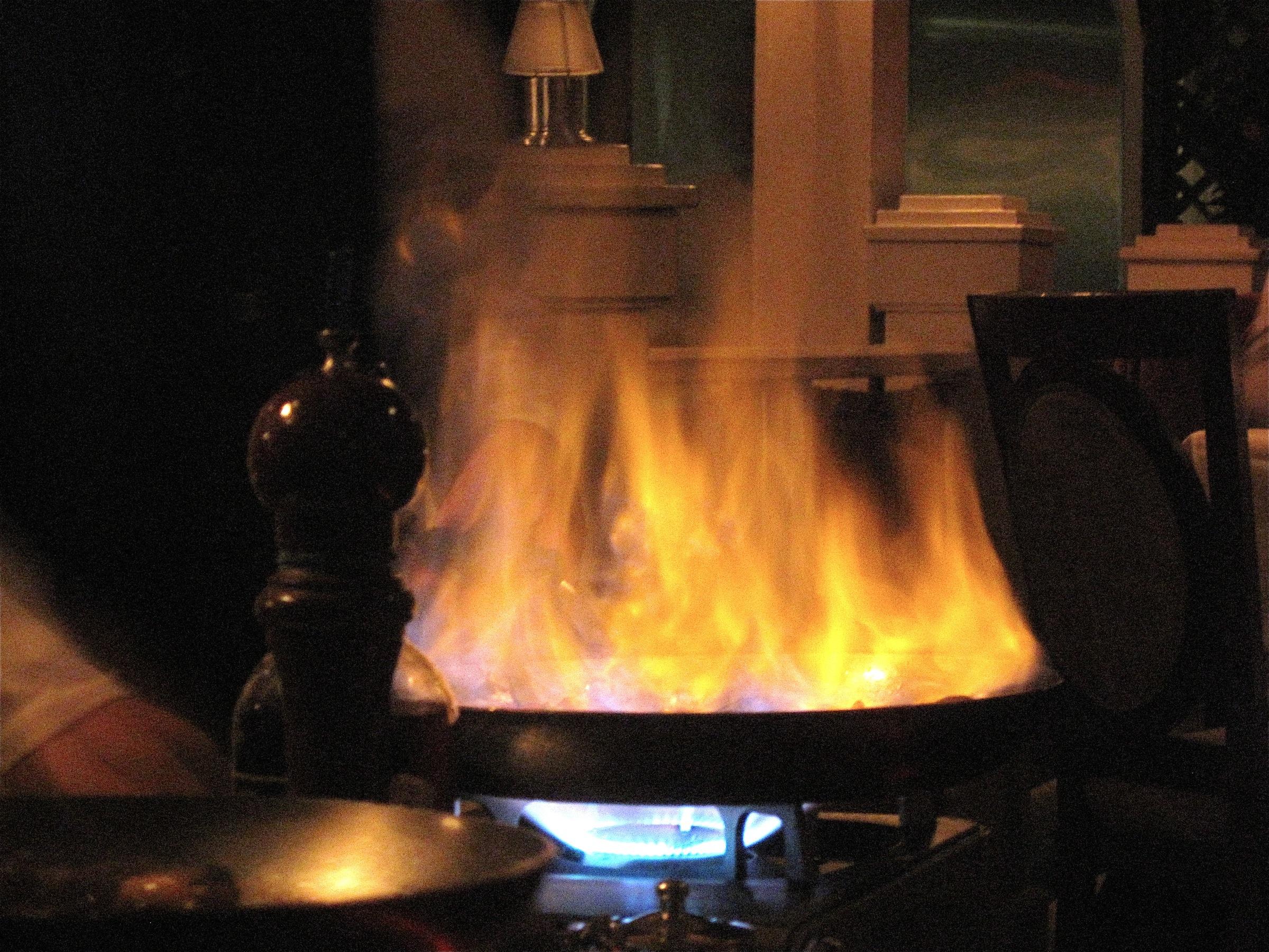 Flambé: Pan on Fire
