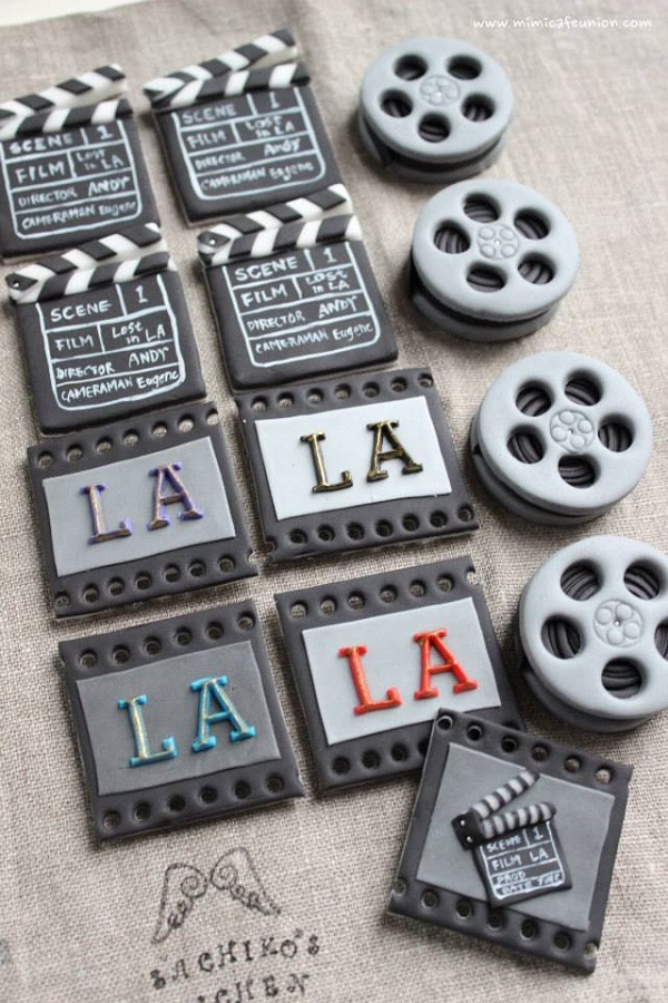 Movie Themed Cake Toppers