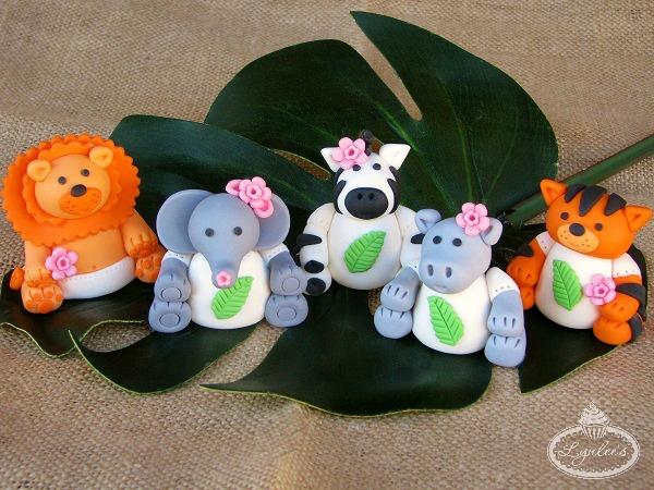 Little Fondant Baby Animals