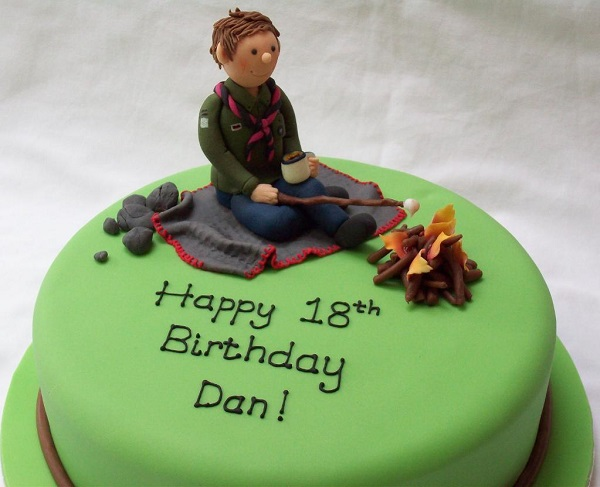 Boy Scout Birthday Cake - Bluprint Member Project