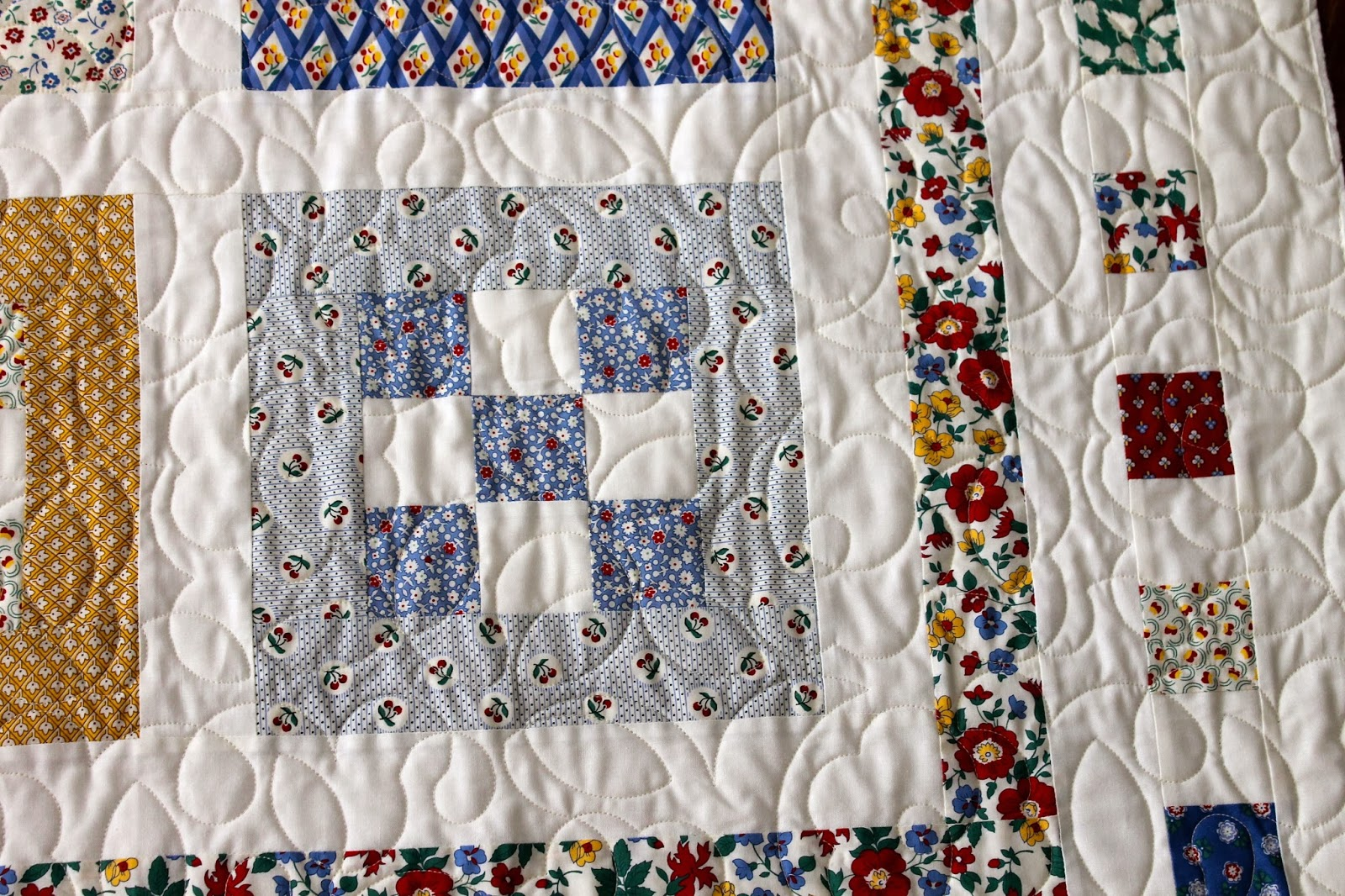 Allover Pattern: Posy Quilting Pattern