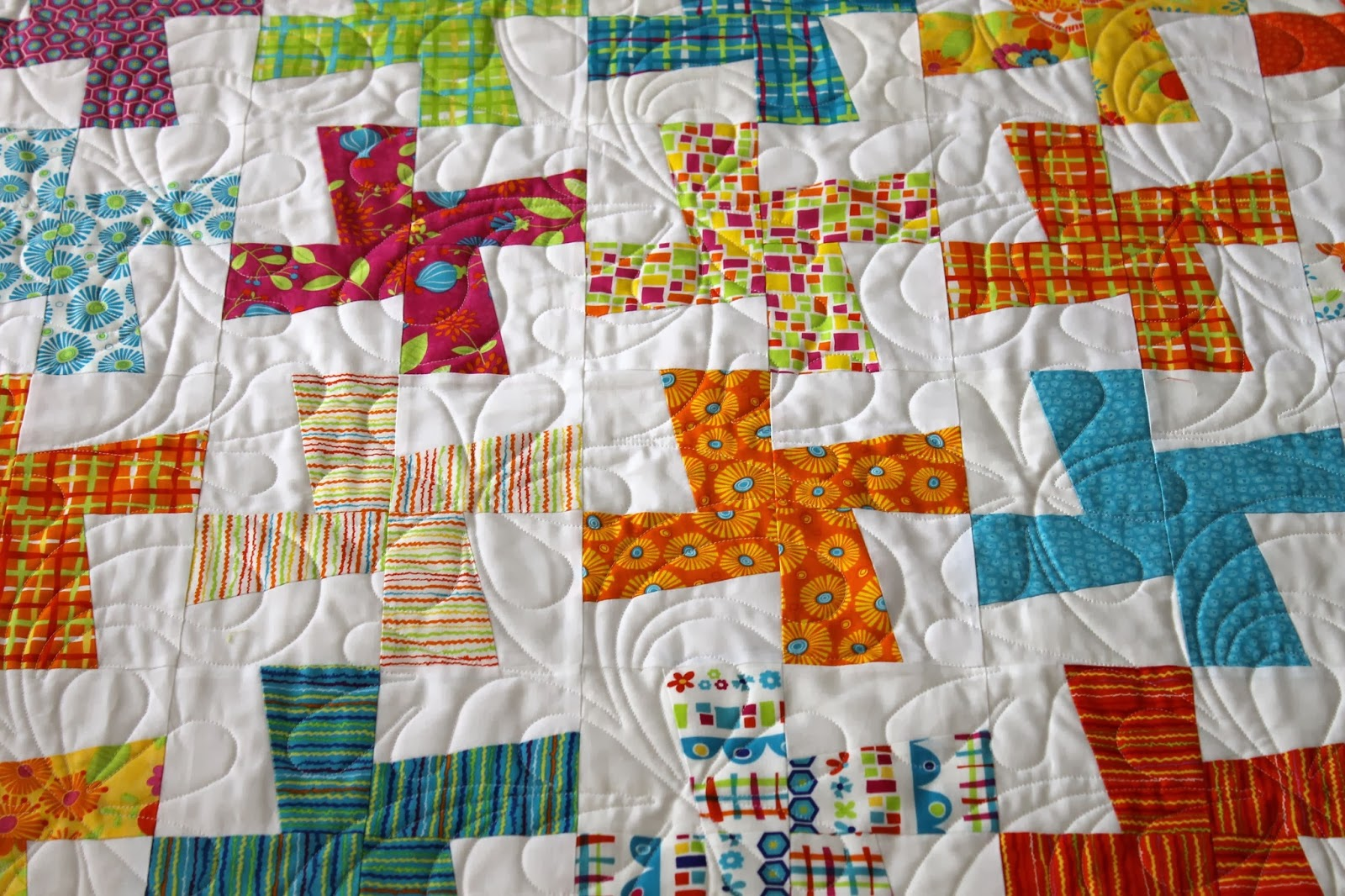 Splat All Over Quilting Design