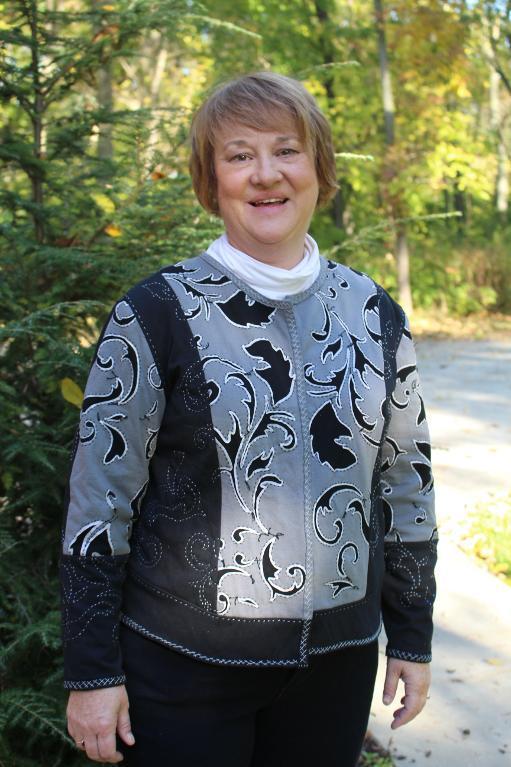 Alabama Chanin style jacket