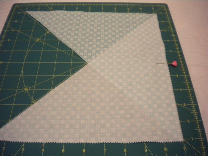 Step 2 - Cutting Triangle