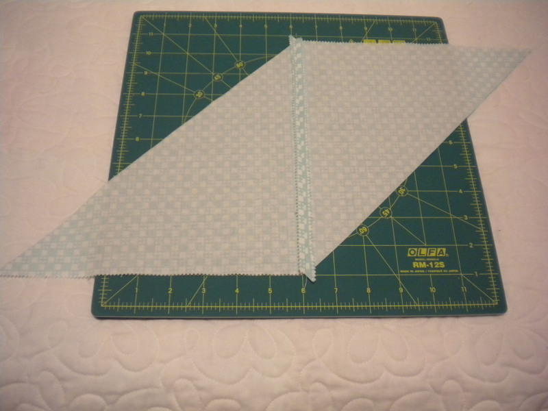 Sewing Fabric - View of Seam