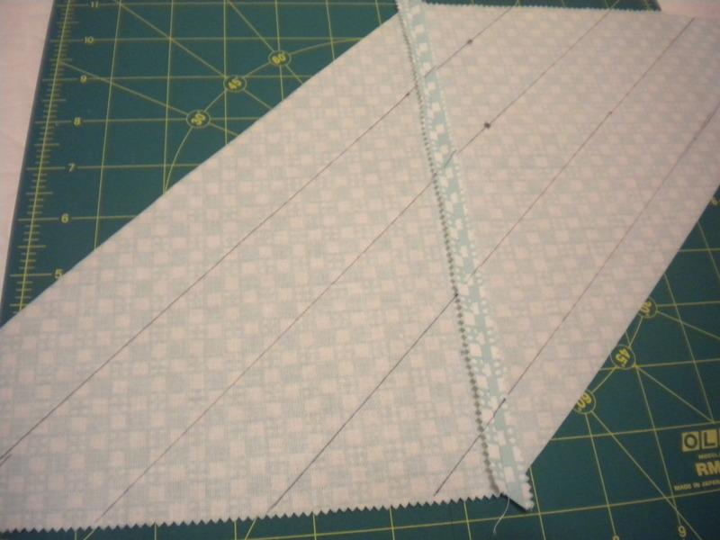 Sewing Seams into Fabric