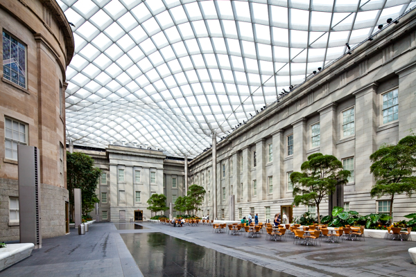 Tilt Shift Photography - National Portrait Gallery