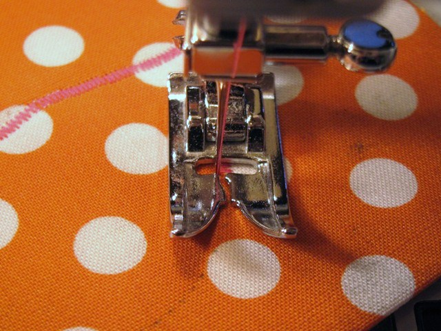 Sewing the Appliqué