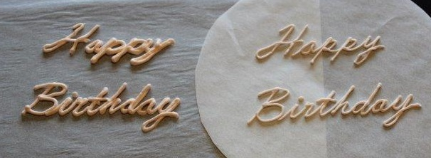 Piping Tips - Practicing Piping the Lettering