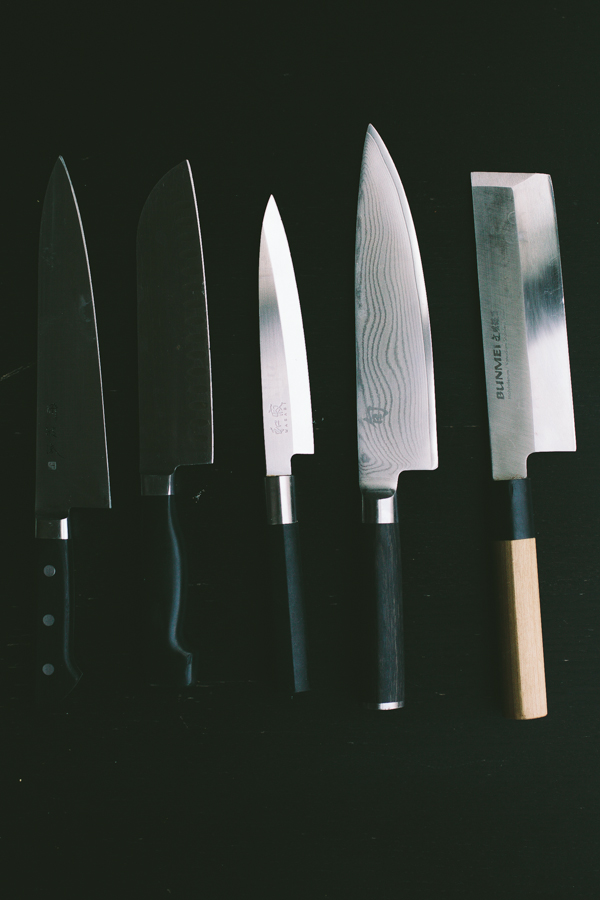 Range of Chef's Knives