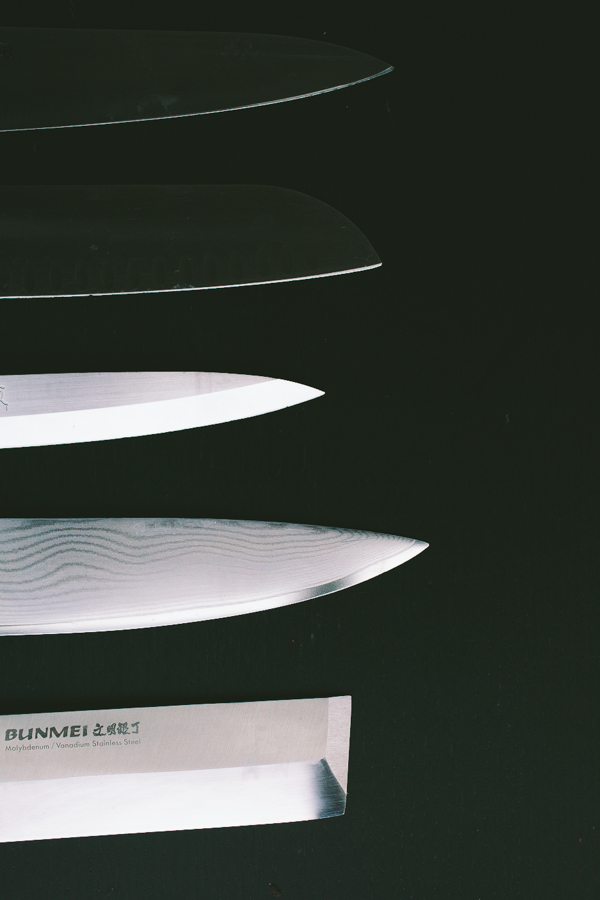 Chef's Knife - Blades