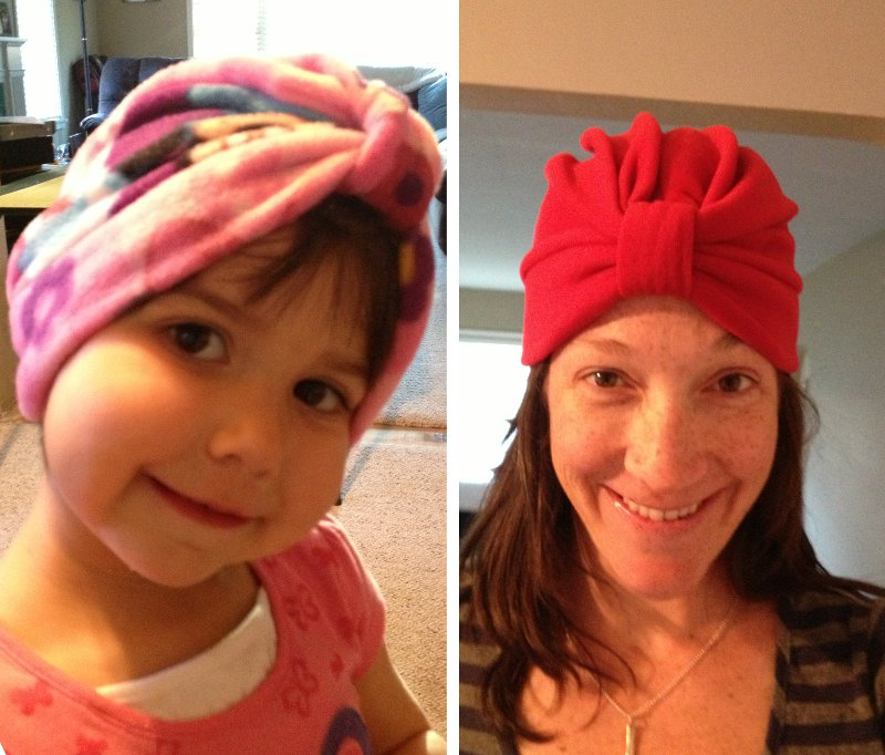 Chemotherapy turbans - child and adult