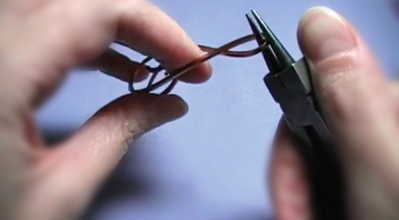 Bending Wire Around Pliers