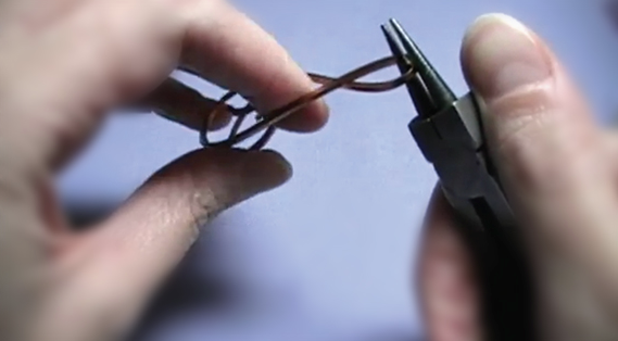 Using Pliers and Hands to Twist Wire
