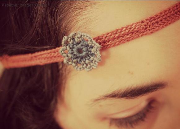 Crocheted Headband: Free Pattern on Bluprint