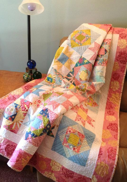 Tropical Quilt - Pattern by Bluprint Member