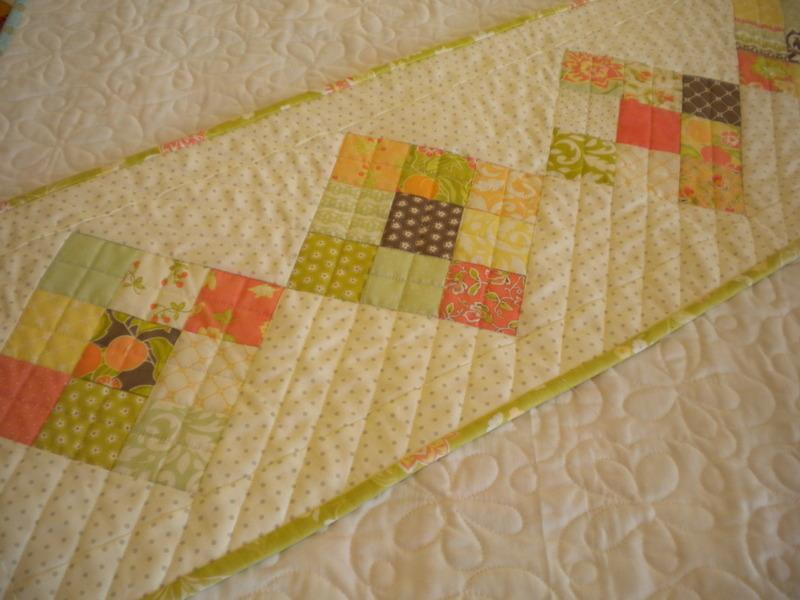 Simple Nine Patch Table Runner