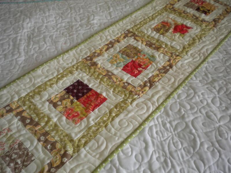 Table Runner-  Craftsy Member Pattern