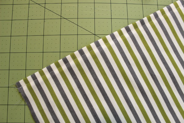 Back of Pillow - How to Sew a Pillow on Bluprint.com