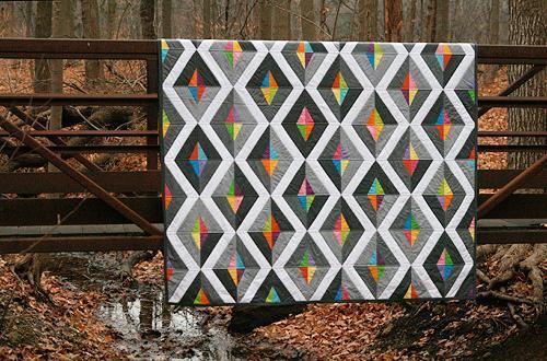 Rainbow Prism Quilt - Bluprint Member Pattern
