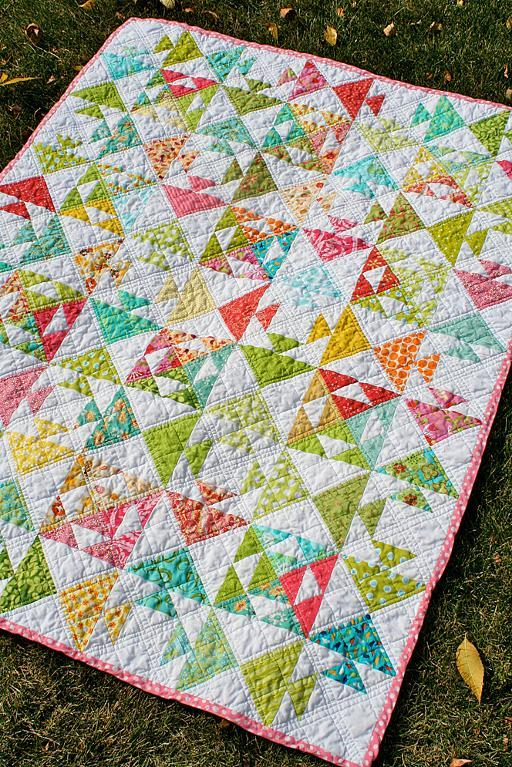 Free Flying Geese Quilting Pattern - Bluprint.com