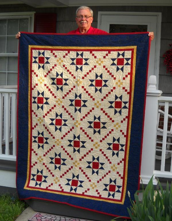 Bluprint Quilting Pattern: Medal of Honor Quilt