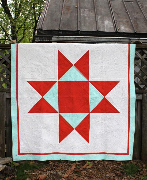 Bluprint Member Pattern: Ohio Supernova Quilt