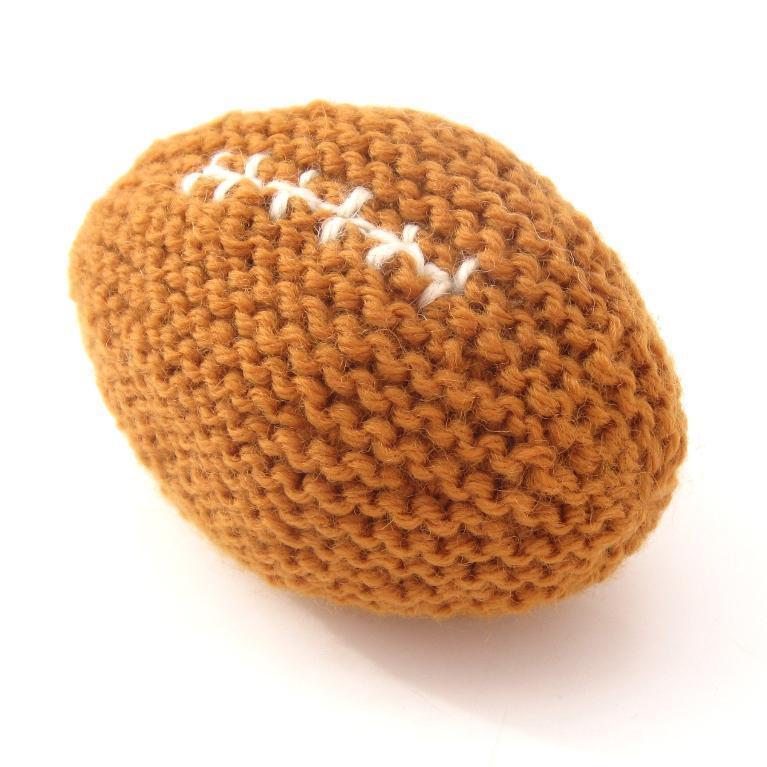 Knit Football - Free Pattern on Bluprint.com