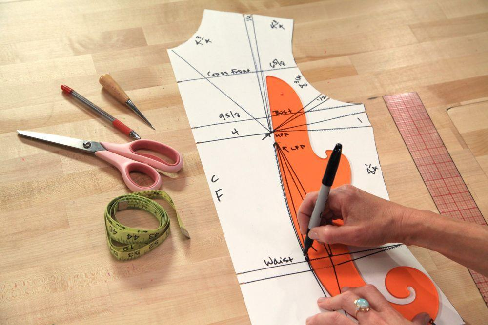 Drafting a Bodice Pattern